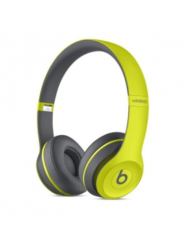 Beats Solo2 Wireless Headphones Active Collection - Yellow
