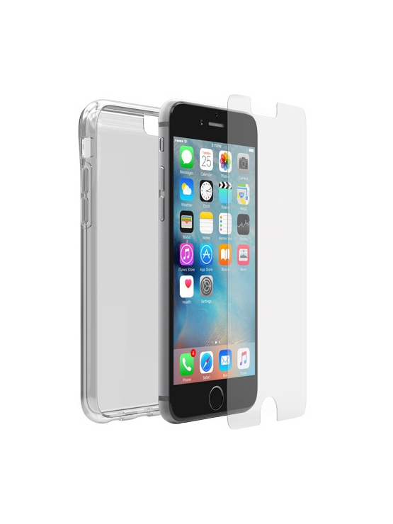 Funda transparente + cristal Otterbox Crearly Protected iPhone 6/6s