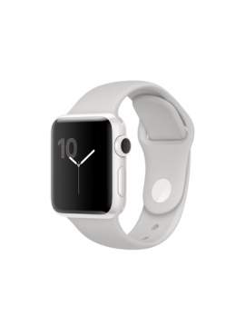 Apple Watch Edition, caja de cerámica blanca y correa deportiva en color nube