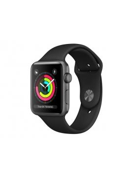 Apple Watch Series 3 GPS + Cellular Gris espacial, con caja de aluminio y correa color negro Sport