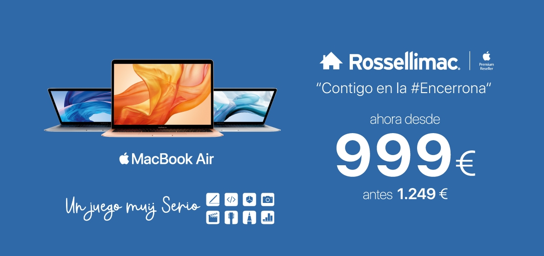 descuento MacBook Air 999
